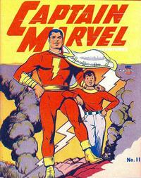 Cover Thumbnail for Captain Marvel [Mighty Midget Comic] (Samuel E. Lowe & Co., 1942 series) #11