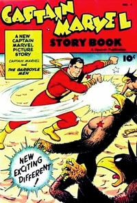 Cover Thumbnail for Captain Marvel Story Book (Fawcett, 1946 series) #4