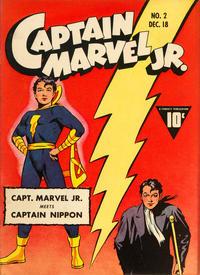 Cover Thumbnail for Captain Marvel Jr. (Fawcett, 1942 series) #2