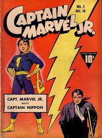 Cover Thumbnail for Captain Marvel Jr. (Fawcett, 1942 series) #2