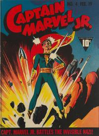 Cover Thumbnail for Captain Marvel Jr. (Fawcett, 1942 series) #4