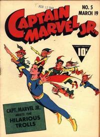 Cover Thumbnail for Captain Marvel Jr. (Fawcett, 1942 series) #5