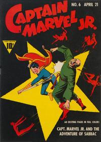 Cover Thumbnail for Captain Marvel Jr. (Fawcett, 1942 series) #6
