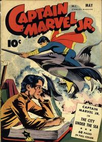 Cover Thumbnail for Captain Marvel Jr. (Fawcett, 1942 series) #7
