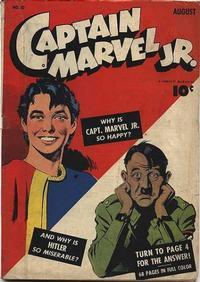 Cover Thumbnail for Captain Marvel Jr. (Fawcett, 1942 series) #10