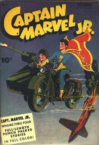 Cover Thumbnail for Captain Marvel Jr. (Fawcett, 1942 series) #11