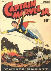 Cover Thumbnail for Captain Marvel Jr. (Fawcett, 1942 series) #12