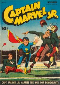 Cover Thumbnail for Captain Marvel Jr. (Fawcett, 1942 series) #13