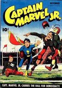 Cover Thumbnail for Captain Marvel Jr. (Fawcett, 1942 series) #13
