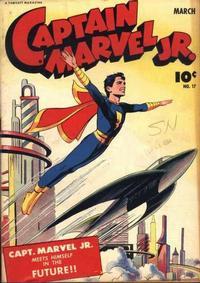 Cover Thumbnail for Captain Marvel Jr. (Fawcett, 1942 series) #17