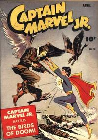 Cover Thumbnail for Captain Marvel Jr. (Fawcett, 1942 series) #18
