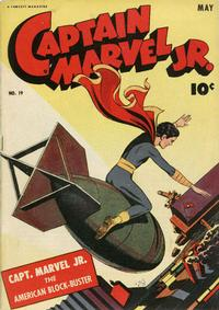 Cover Thumbnail for Captain Marvel Jr. (Fawcett, 1942 series) #19