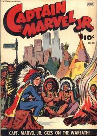 Cover Thumbnail for Captain Marvel Jr. (Fawcett, 1942 series) #20