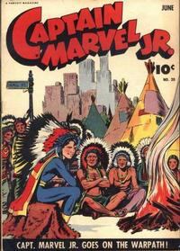 Cover Thumbnail for Captain Marvel Jr. (Fawcett, 1942 series) #20