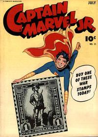 Cover Thumbnail for Captain Marvel Jr. (Fawcett, 1942 series) #21