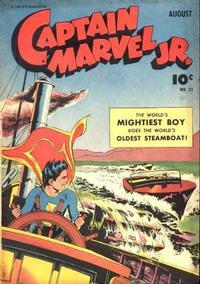 Cover Thumbnail for Captain Marvel Jr. (Fawcett, 1942 series) #22
