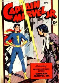 Cover Thumbnail for Captain Marvel Jr. (Fawcett, 1942 series) #23