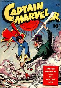 Cover Thumbnail for Captain Marvel Jr. (Fawcett, 1942 series) #24