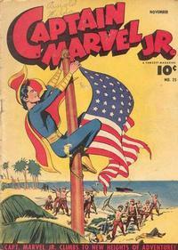 Cover Thumbnail for Captain Marvel Jr. (Fawcett, 1942 series) #25