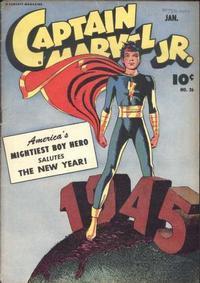 Cover Thumbnail for Captain Marvel Jr. (Fawcett, 1942 series) #26