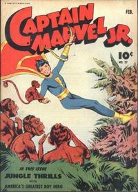 Cover Thumbnail for Captain Marvel Jr. (Fawcett, 1942 series) #27