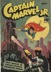 Cover Thumbnail for Captain Marvel Jr. (Fawcett, 1942 series) #28