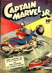 Cover Thumbnail for Captain Marvel Jr. (Fawcett, 1942 series) #32