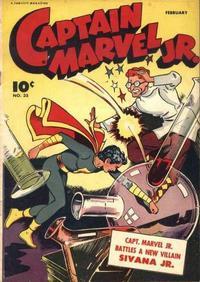 Cover Thumbnail for Captain Marvel Jr. (Fawcett, 1942 series) #34 (35)