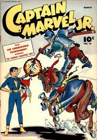 Cover Thumbnail for Captain Marvel Jr. (Fawcett, 1942 series) #36