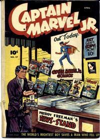Cover Thumbnail for Captain Marvel Jr. (Fawcett, 1942 series) #37