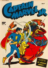 Cover Thumbnail for Captain Marvel Jr. (Fawcett, 1942 series) #38
