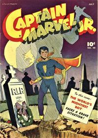 Cover Thumbnail for Captain Marvel Jr. (Fawcett, 1942 series) #40