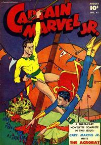 Cover Thumbnail for Captain Marvel Jr. (Fawcett, 1942 series) #41