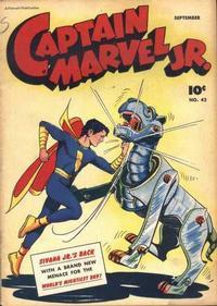 Cover Thumbnail for Captain Marvel Jr. (Fawcett, 1942 series) #42