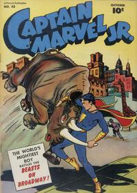 Cover Thumbnail for Captain Marvel Jr. (Fawcett, 1942 series) #43