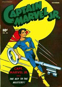 Cover Thumbnail for Captain Marvel Jr. (Fawcett, 1942 series) #44
