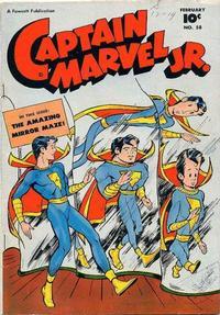 Cover Thumbnail for Captain Marvel Jr. (Fawcett, 1942 series) #58