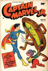 Cover Thumbnail for Captain Marvel Jr. (Fawcett, 1942 series) #70
