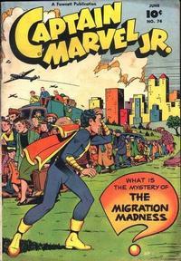 Cover Thumbnail for Captain Marvel Jr. (Fawcett, 1942 series) #74