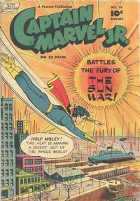 Cover Thumbnail for Captain Marvel Jr. (Fawcett, 1942 series) #76