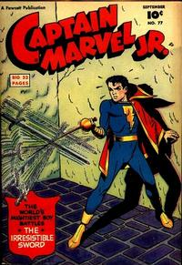 Cover Thumbnail for Captain Marvel Jr. (Fawcett, 1942 series) #77