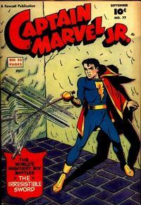 Cover Thumbnail for Captain Marvel Jr. (Fawcett, 1942 series) #77