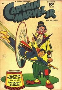 Cover Thumbnail for Captain Marvel Jr. (Fawcett, 1942 series) #79