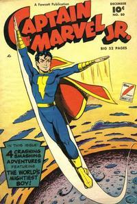 Cover Thumbnail for Captain Marvel Jr. (Fawcett, 1942 series) #80
