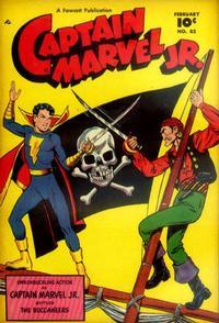 Cover Thumbnail for Captain Marvel Jr. (Fawcett, 1942 series) #82