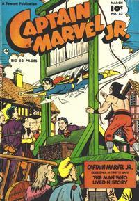 Cover Thumbnail for Captain Marvel Jr. (Fawcett, 1942 series) #83
