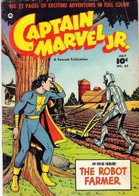 Cover Thumbnail for Captain Marvel Jr. (Fawcett, 1942 series) #87