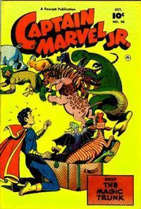 Cover Thumbnail for Captain Marvel Jr. (Fawcett, 1942 series) #90