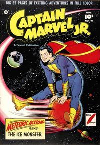 Cover Thumbnail for Captain Marvel Jr. (Fawcett, 1942 series) #91