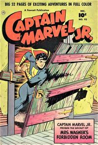 Cover Thumbnail for Captain Marvel Jr. (Fawcett, 1942 series) #92